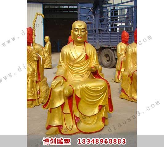 罗汉雕塑3