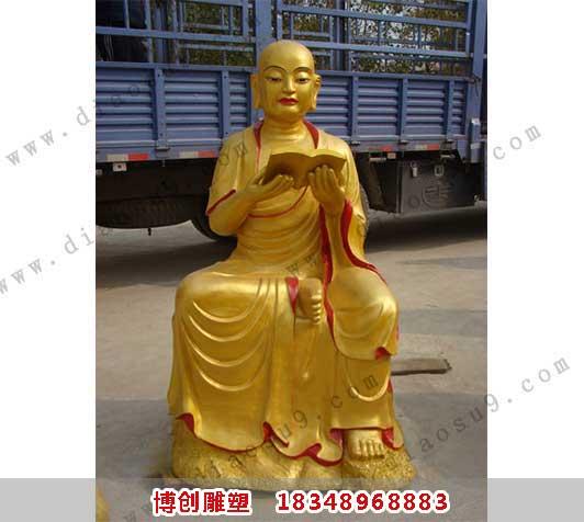 罗汉铜雕4