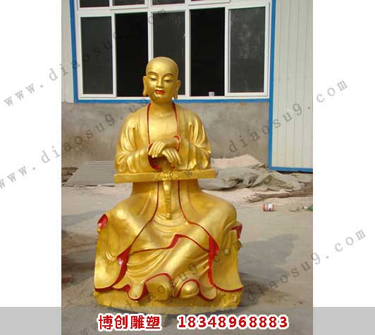 铜雕罗汉像