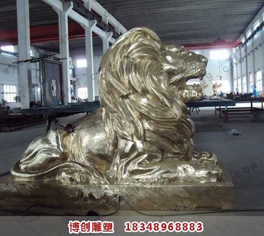 大型狮子雕塑