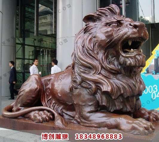 汇丰铜狮子