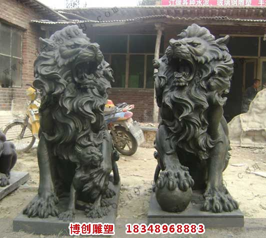 大型铜雕汇丰狮