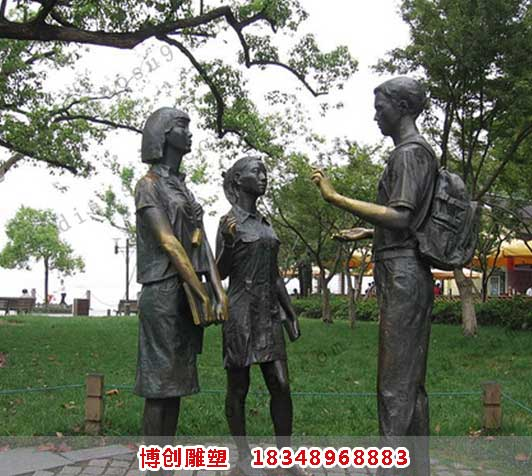 儿童雕塑_孩子雕塑_小孩雕塑