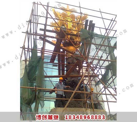 泗阳凤凰高十八米锻铜