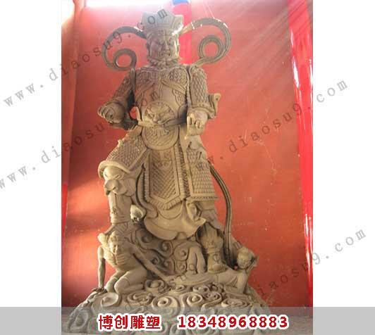 四大天王铜雕塑铸造