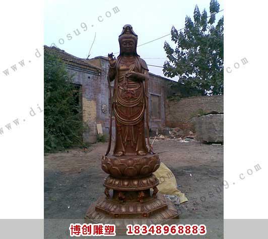 大型观音铜雕