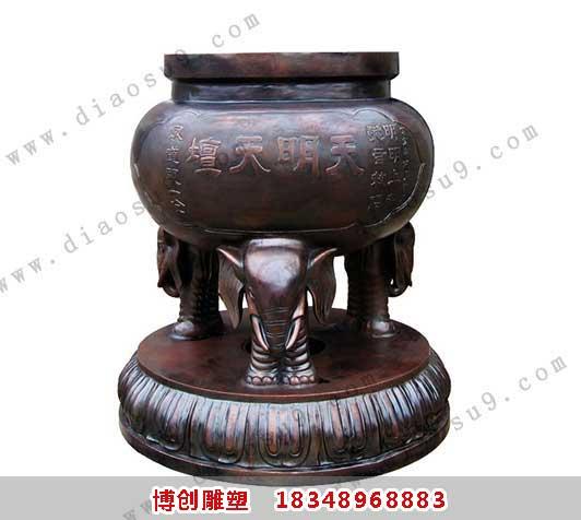 铜香炉铸造