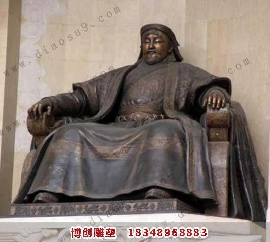 成吉思汗雕像铸造