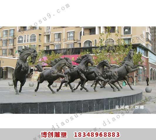 铜雕广场雕塑