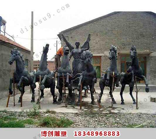 胜利女神雕塑