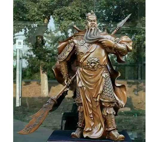 大型关公雕塑