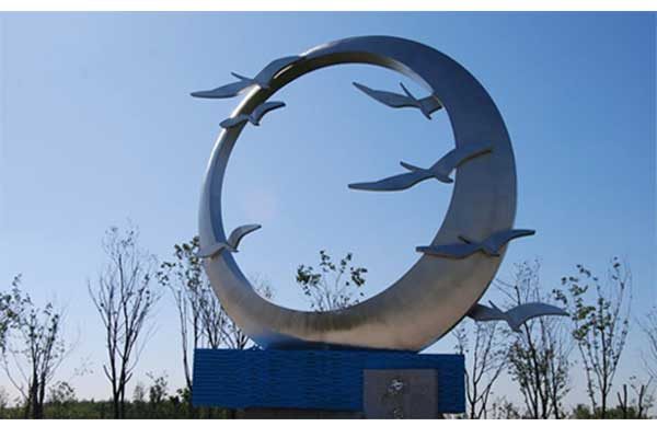 不锈钢景观雕塑
