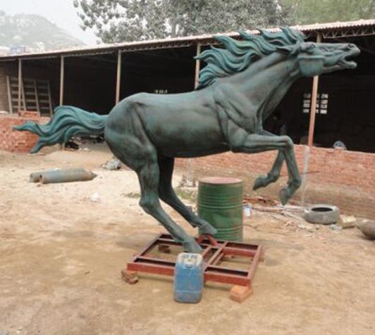 定做铜马/铜马雕塑价格