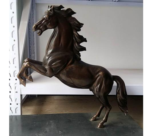 铜马厂家定做紫铜铜马