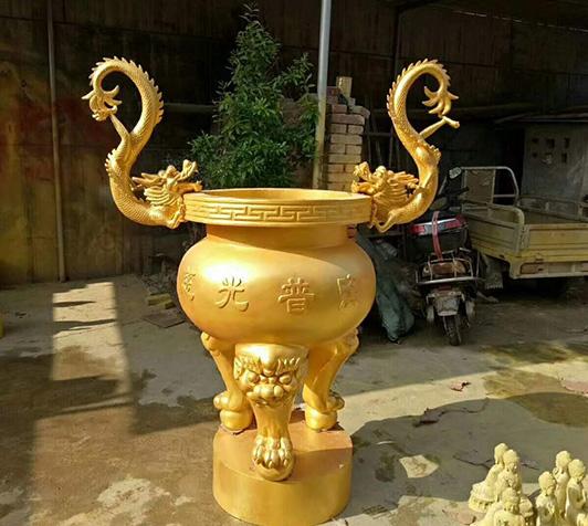 陈设铜香炉/铜香炉铸造