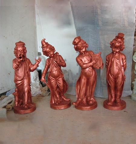人物玻璃钢雕塑