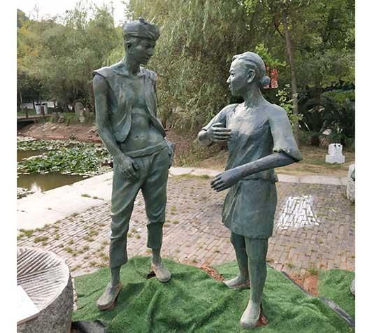 园林雕塑-人物雕塑