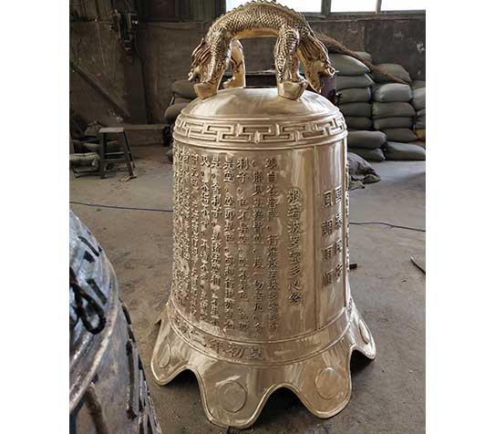 大型铜钟铸造