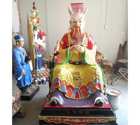 西海龙王神像雕塑