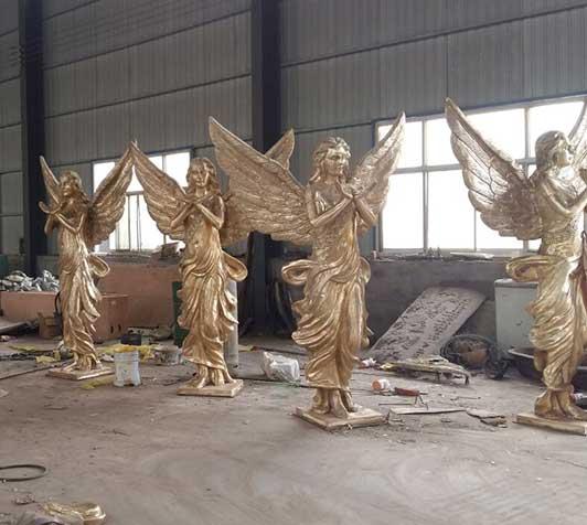小区雕塑制作-胜利女神