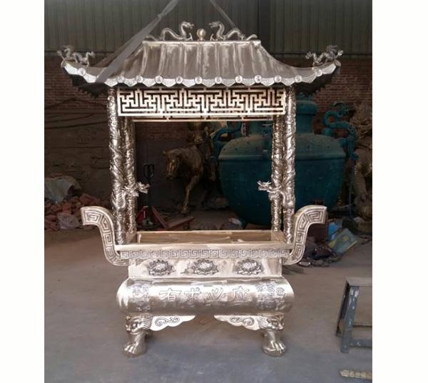 厂家完工的铜香炉
