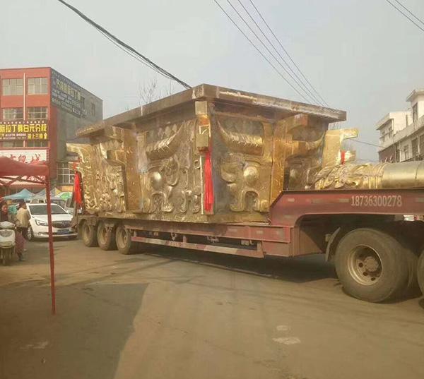 铜宝鼎运输