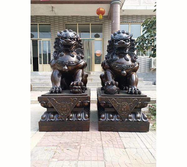 铜狮子故宫狮子