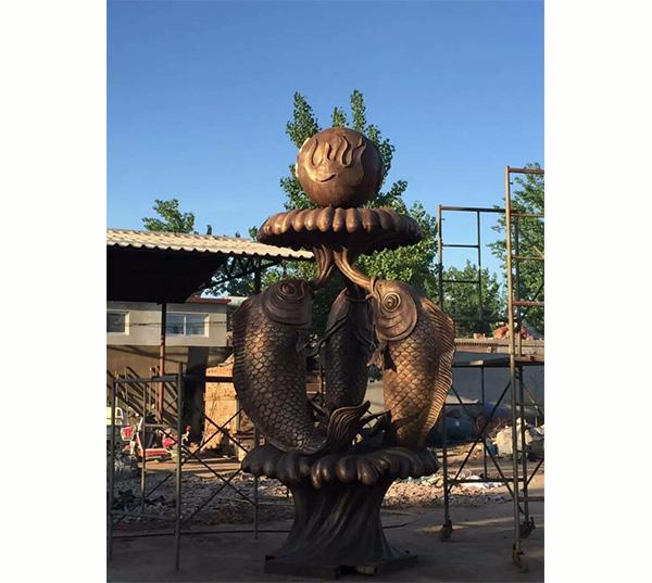 小区喷泉雕塑