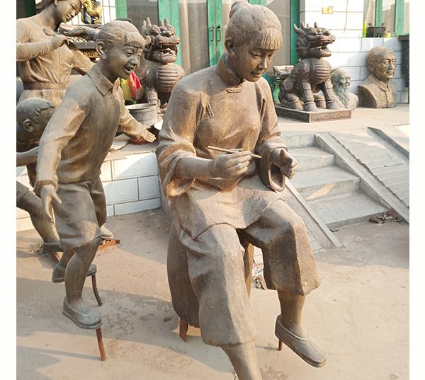 铜雕人物雕塑