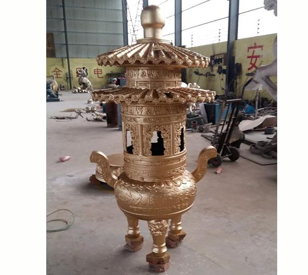 紫金铜香炉(图片)