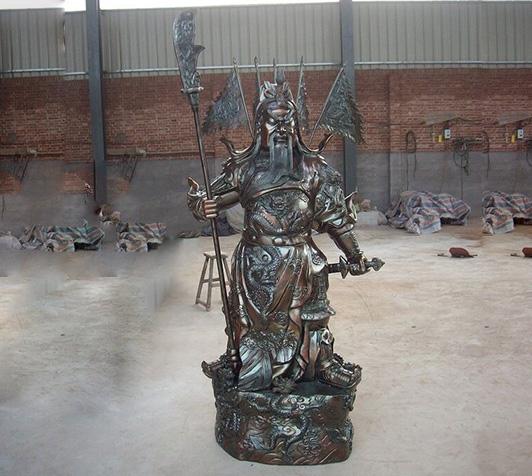 人物雕塑-铜关公