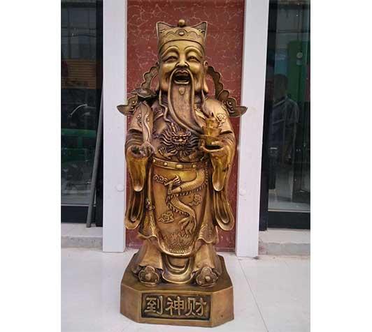 神像雕塑-财神到