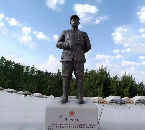现代人物雕塑王长江