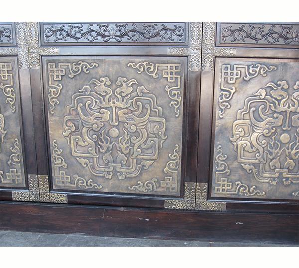 铜装饰-铜门