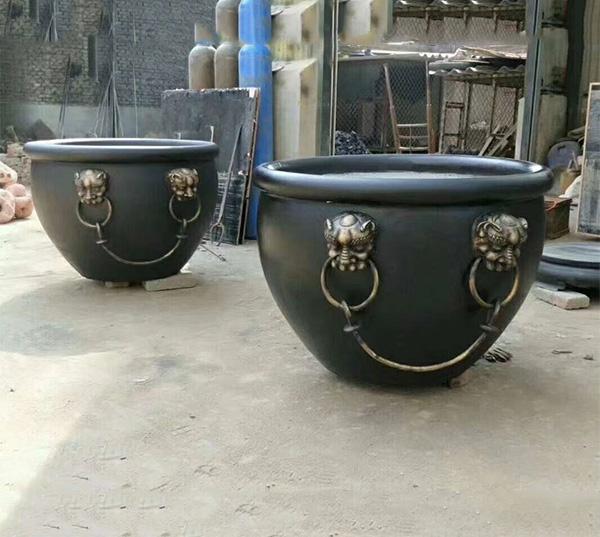 青铜器仿古大铜缸