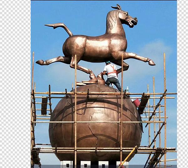 马踏飞燕巨型艺术品雕塑