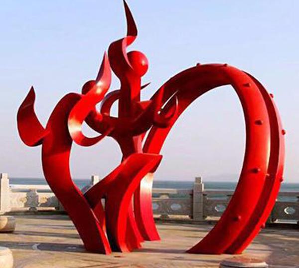 广场景观玻璃钢雕塑