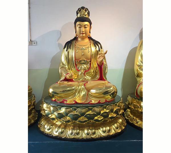 铜观音菩萨佛像