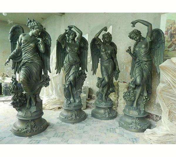 玻璃钢天使雕塑/园林雕塑