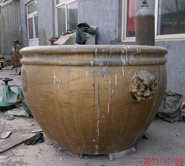 大型景观铜缸(图片)