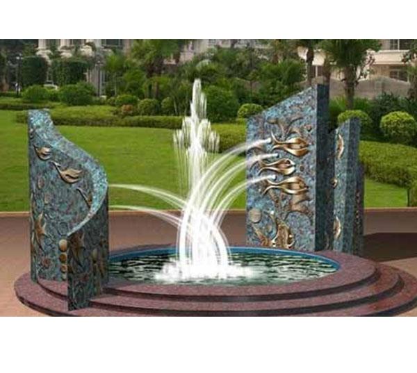 广场喷泉雕塑