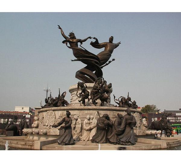 民俗广场雕塑