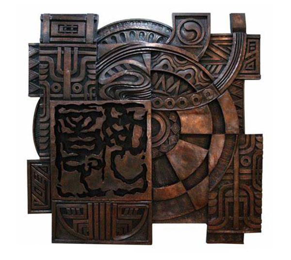 铜装饰-锻铜雕塑
