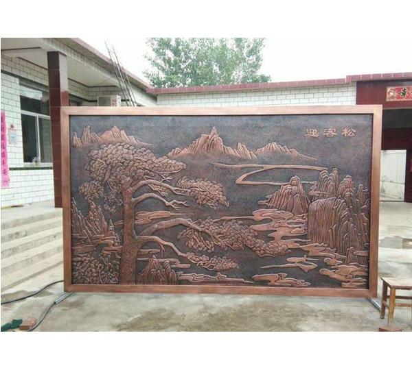 铜装饰-壁画