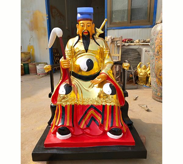 吕洞宾道教神像雕塑