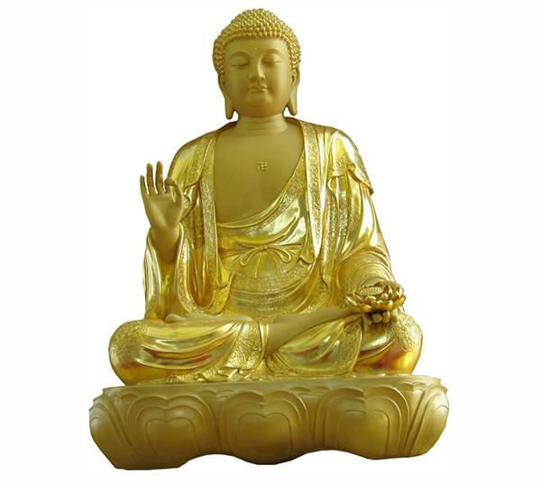 如来铜佛像