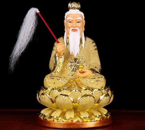 三清道祖铜像