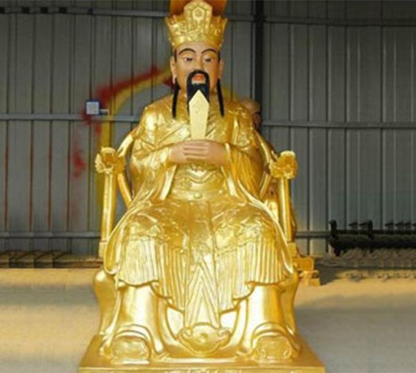 玉皇大帝雕塑