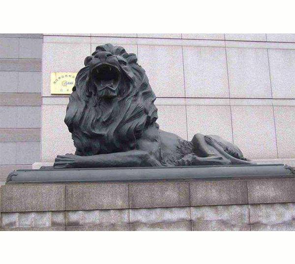 青铜汇丰狮