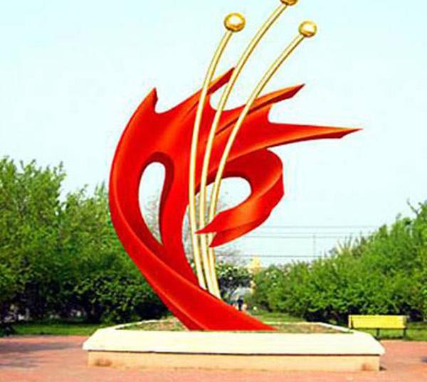 廣場玻璃鋼雕塑